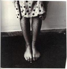 Photo by Francesca Woodman, 1978.