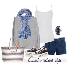 Casual weekend style Coastal Style Blog