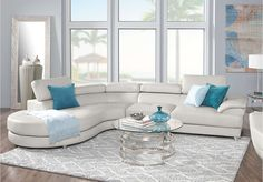 Sofia Vergara Cassinella Stone 5 Pc Sectional Living Room . $1,299.99.  Find affordable Living Room Sets for your home that will complement the rest of your furniture.