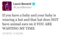 Laura Benanti, Tony Award winning awesome person.