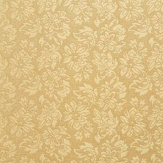 The K9241 ANTIQUE upholstery fabric by KOVI Fabrics features Floral, Heirloom or Vintage pattern and Gold or Yellow as its colors. It is a Brocade or Matelasse type of upholstery fabric and it is made of 62% cotton, 38% polyester material. It is rated Exceeds 45,000 Double Rubs (Heavy Duty) which makes this upholstery fabric ideal for residential, commercial and hospitality upholstery projects.For help Call 800-8603105.