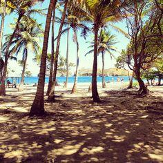 Une plage paradisiaque des Saintes, Guadeloupe : http://blogovoyage.fr/petite-escale-aux-saintes-terre-de-haut.html