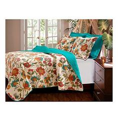 Greenland Home® Clearwater 3-pc. Quilt Set at www.bergners.com