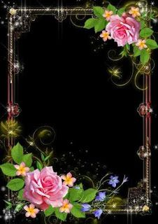 By Artist Unknown. Photo Frame Wallpaper, Framed Wallpaper, Sunset Wallpaper, Flower Wallpaper, Iphone Background Images, Best Photo Background, Studio Background Images, Backgrounds, Flower Frame