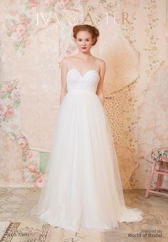 Ivy & Aster Spring 2016 Wedding Dress #wedding #dresses #bridal #gown #dress