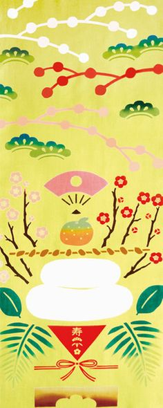 [気音間]手ぬぐい【正月・縁起物】鏡餅(元旦・お祝い)日本手拭い(てぬぐい)メール便送料無料♪手ぬぐい(てぬぐい)風呂敷(ふろしき)扇子通販「わざっか本舗」