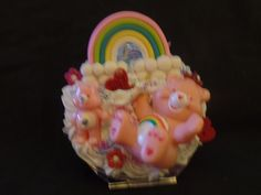 Kawaii Cute Care Bear Compact Mirror by Fangirl505 on Etsy