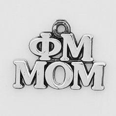 Now available Phi Mu Mom Charm ... Shop http://manddsororitygifts.com/products/phi-mu-mom-charm?utm_campaign=social_autopilot&utm_source=pin&utm_medium=pin