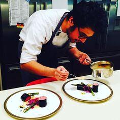 Lamb  nori  miso Gruyere  seaweed soil red cabbage #kitchenfire #foodpics #foodporn #pickling #foodie #chef #cheflife #chefstalk #chefsofinstagram #truecooks #theartofplating #fourmagazine #mi #mindofachef #lamb #instagood #instagramfood #fresh #organic#top_food_of_instagram #japanesefood #japan #instagood #theartofplating by uphoric_ammar