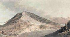 H. Keller, Der Bergsturz von Goldau am 2. Sept. 1806 am Rossberg, Kanton Schwyz, Switzerland