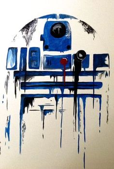 Show your true Star Wars colors with this hand-painted drip style canvas work! Finished with a special spray that prevents wear and fading. Easy to