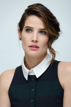 Cobie Smulders Avengers Age Of Ultron press conference 11th April 2015