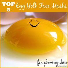 DIY: Egg Yolk Face Mask Recipes for Glowing Skin #naturalfacemaskforacne #FaceMaskForGlowingSkin #ClayFaceMask Egg Yolk Face Mask, Avocado Face Mask, Mask For Dry Skin, Skin Mask, Face Skin, Face Face, Diy Face Scrub, Coconut Oil For Face, Natural Exfoliant