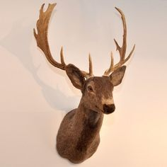 Felted and Furry deer