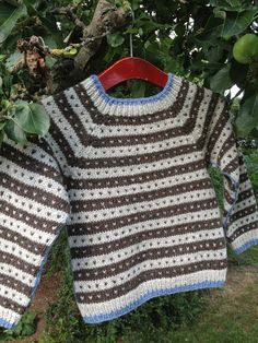 Knitting For Kids, Baby Knitting Patterns, Knitting Designs, Baby Patterns, Knitting Projects, Baby Boy Sweater, Baby Sweaters, Fair Isle Knitting, Knitted Shawls