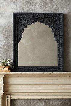 Carved Archway Mirror - anthropologie.com #anthrofave
