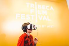 The Tribeca Film Festival's bringing VR to the masses.