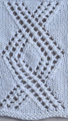 This lace stitch pattern starts off the cardigan in the round - maddy laine Knitting Patterns