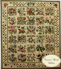The Caswell Quilt - designed by Corliss Searcy, who published a pattern for Civil War Bride quilt