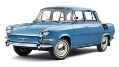 Standing exhibition - ŠKODA Retro Cars, Vintage Cars, Vintage Auto, Classic Motors, Classic Cars, Europe Car, Car Drawings, Top Cars, Small Cars