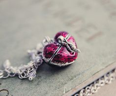 Heart+Shaped+Box+Necklace+Locket+Sterling+Silver+by+PoleStar