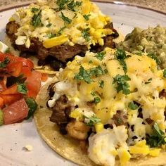 Quick and Easy Huevos Rancheros Avocado Breakfast, Breakfast Bowls, Fried Tortillas, Huevos Rancheros, Refried Beans, How To Cook Eggs, Vegetarian Cheese, Tortilla Chips, Mexican Food Recipes