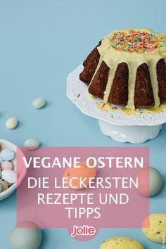 Vegane Ostern ohne Eier und Co.? Klar! Mit diesen tollen veganen Rezepten glückt euch ein Osterfest auch ohne tierische Produkte. Eggs, Easter Activities, Products