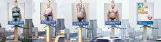 Male Stripper billboard -- Oh god, please someone rent the billboard quick!!