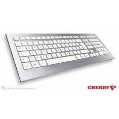 Cherry, sigue haciendo buenos teclados, como los viejos rockeros. Aquí el modelo JK-0300 con un diseño minimalista y un acabado en aluminio muy bonito