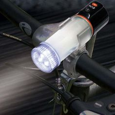 LED Waterproof Light and Beacon Flare Magnetic Base Includes Bike Mount