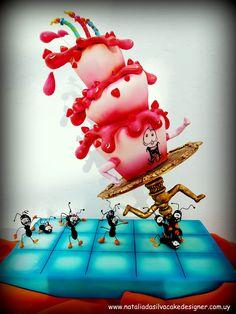 Ants Picnic Cake Art