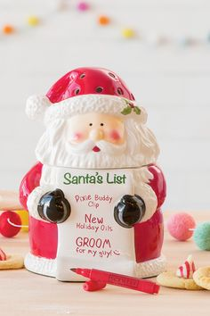 Santa is coming! What better way to welcome the holiday season than this Scensty warmer. Then the kids will know- Santa's watching this Christmas!