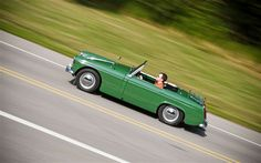 1962 MG Midget ... pound-for-pound and ounce-for-ounce the most automotive fun one can have.