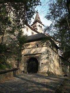 Gate of Orava Castle, Zilinsky kraj, Slovakia