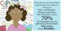 To help the children who are not able to visit their parents in prison, we've produced the #ChIPs storybook, Jasmine's Story.