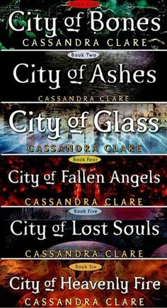 such freakin' good books. i loved them. and the City Of Bones movie actually wasn't that bad. Was mad about some small details. But all in all it was pretty good.
