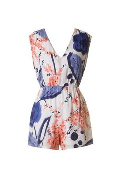 Share for 10% off your purchase!  Cherry Blossom Romper