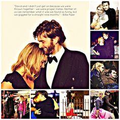 Billie Piper & David Tennant #doctorwho -