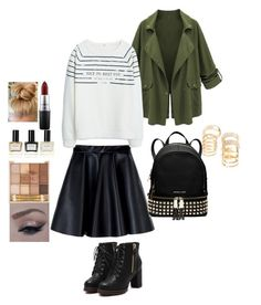 """""""FOXY"""" by desiner on Polyvore featuring Forever 21, MSGM, MICHAEL Michael Kors, MANGO, MAC Cosmetics and Balmain"""