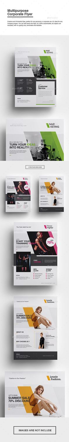 Buy Multipurpose Corporate Flyer by punkl on GraphicRiver. Multipurpose Corporate Flyer Creative and Minimalist flyer, perfect for any personal or corporate use. Web Design, Flyer Design, Layout Design, Creative Design, Creative Advertising, Advertising Design, Advertising Agency, Poster Graphics, Poster Ads