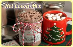 Handmade gifts - Double Chocolate Hot Cocoa Mix