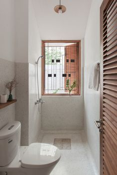 Gallery of Tile Roof House / atelier - 7 House Roof, House Styles, Bathroom Remodel Tile, House Design, Restroom Design, House Bathroom, Bathrooms Remodel, Bathroom Design Small, House Interior