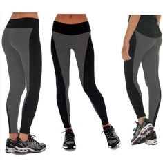 Femmes-taille-elastique-Casual-Jogger-Slim-Vrac-Pantalons-sports-Legging-running