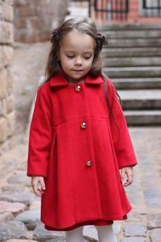 Wool Coat For Girls