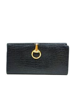 Gucci Black Leather & Brushed Gold Tone Horsebit Vintage Wallet.. Get the lowest price on Gucci Black Leather & Brushed Gold Tone Horsebit Vintage Wallet. and other fabulous designer clothing and accessories! Shop Tradesy now
