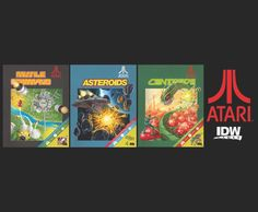 IDW Games partners with Atari to produce a line of tabletop games based on several classic Atari videogame titles.  http://idwgames.com/181826-2/