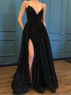 Sparkly Prom Dresses, Hoco Dresses, Black Evening Dresses, Beautiful Prom Dresses, Prom Party Dresses, Dance Dresses, Pretty Dresses, Sexy Dresses, Dress Prom