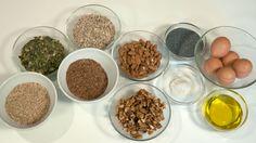 Nordic Nut Bread - ingredients