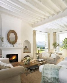 CLASSY, COMFORTABLE....LOOKS LIKE IT SHOULD BE BY THE OCEAN ON A CRISP COOL DAY..