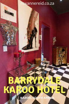 The funky Barrydale Karoo Hotel #Karoo #SouthAfrica #travel
